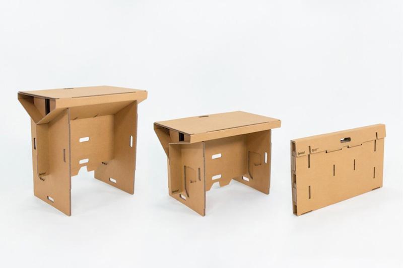 Standing Desk scrivania cartone