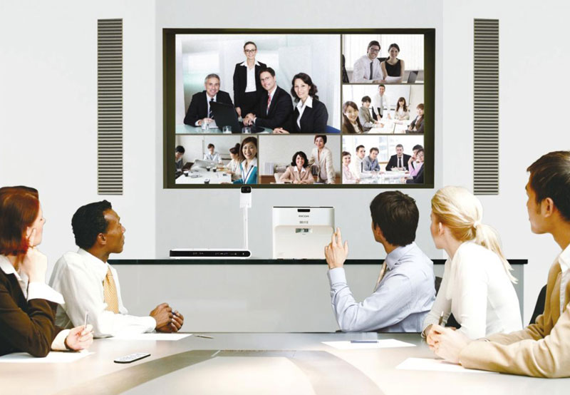 demo sistemi di visual communication ricoh