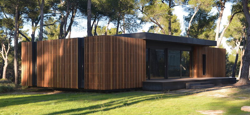pop up house casa ecologica legno