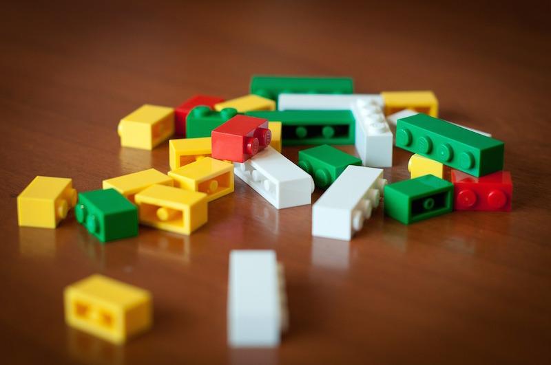 Lego nuovi mattoncini ecologici