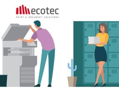 distanza stampante scrivania